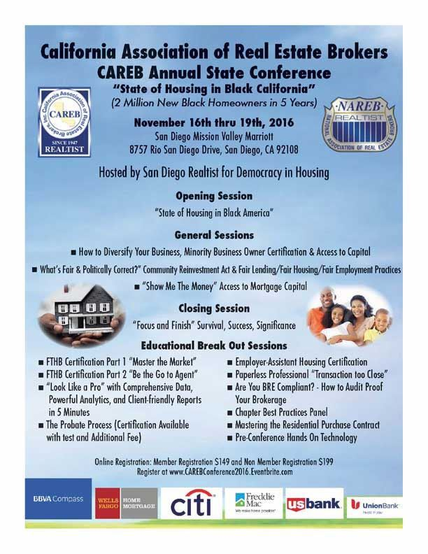Central Valley Realtist Board 2016 Careb Annual State Conference